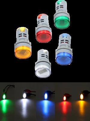 لامپ سیگنال در تابلو برق